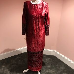 Ruth Norman Neiman Marcus gown
